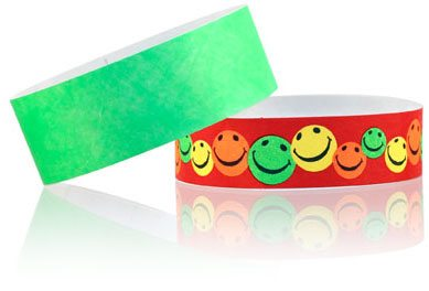 customized paper wristbands