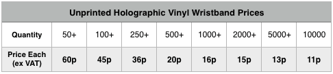 unprinted-holographic-vinyl-wristband-prices