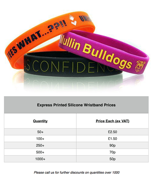 express-silicone-wristbands